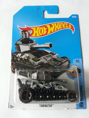 Hot Wheels Diecast - Tanknator (Grey) NEW