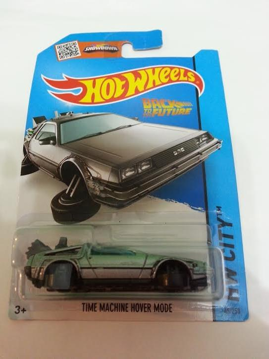 Hot Wheels Diecast -  Back to the Future Time Machine NEW