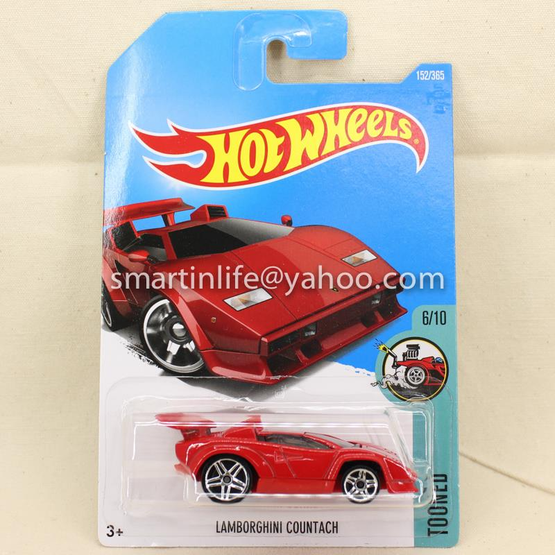 hot wheels lamborghini countach red end 2 9 2018 10 15 pm. Black Bedroom Furniture Sets. Home Design Ideas