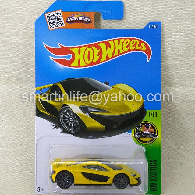 Hot Wheels McLAREN P1 (Yellow) #1