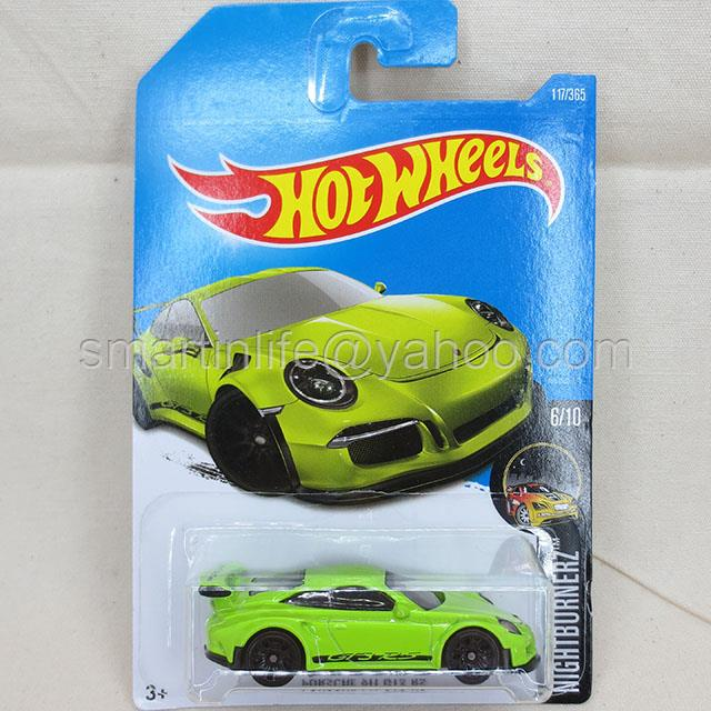 hot wheels porsche 911 gt3 rs end 1 18 2018 9 15 pm myt. Black Bedroom Furniture Sets. Home Design Ideas