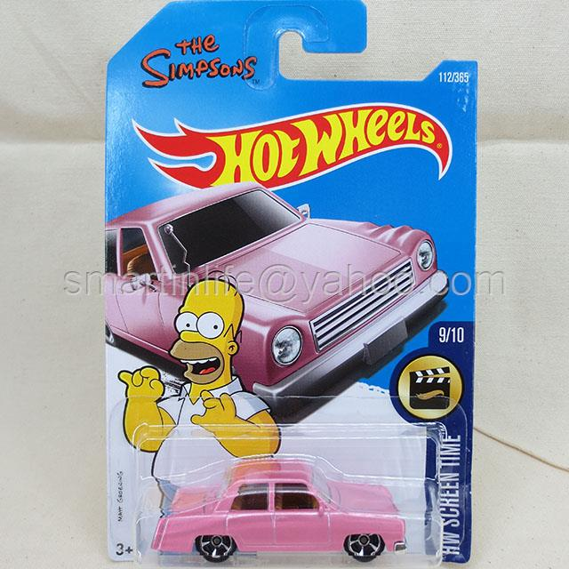Hot Wheels The Simpsons Family Car (Pink) #9