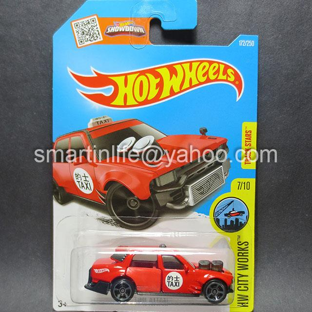 Hot Wheels Time Attaxi (Red) #7