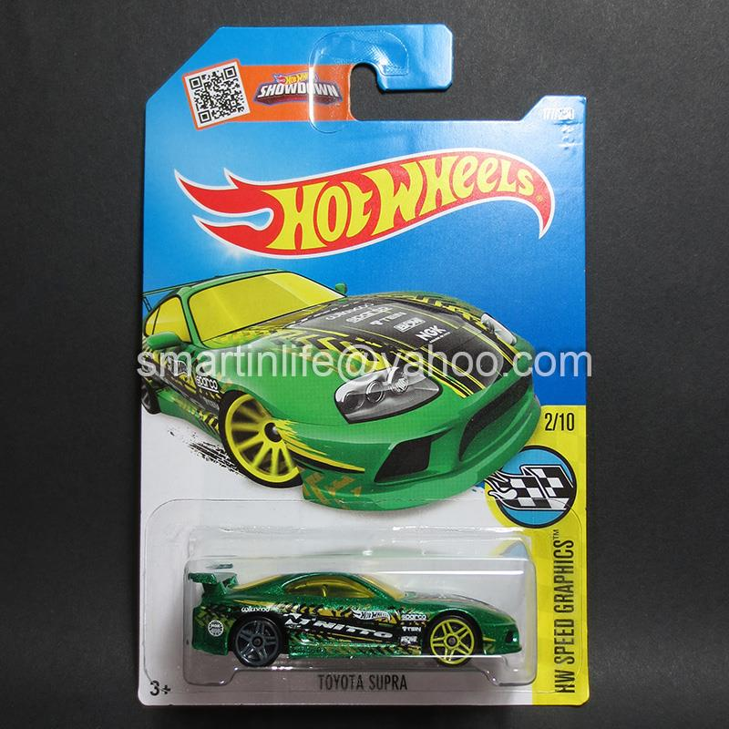 Hot Wheels Toyota Supra (Green) #2
