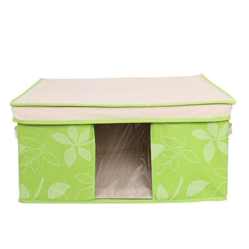 New Hot~Non-woven Leaf Type Storage Box (L)