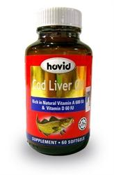 Hovid Cod Liver Oil 240mg 60's