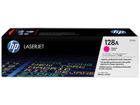HP 128A Magenta Original LaserJet Toner Cartridge(CE323A)