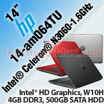 HP 14-am064TU 14' LAPTOP/ NOTEBOOK