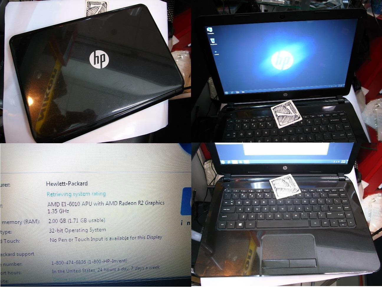 Hp 14 AMD Radeon 500GB NoteBook Laptop Rm680