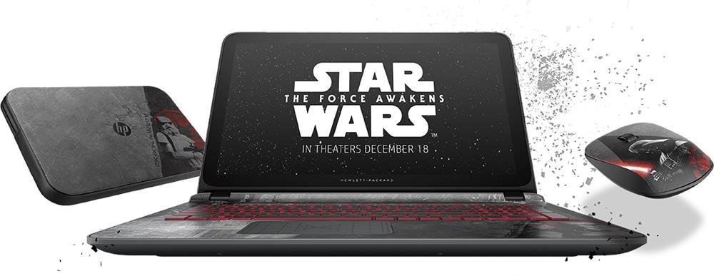 HP 15-an008TX Star Wars Special Edition [15-6200u/8GB RAM/1TB HDD]