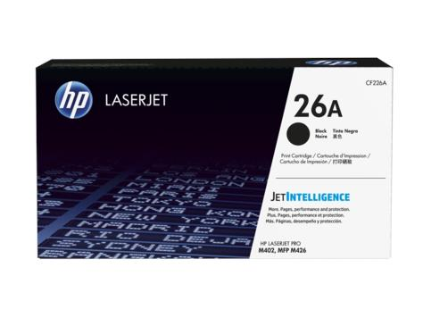 HP 26A Black Original LaserJet Toner Cartridge(CF226A)