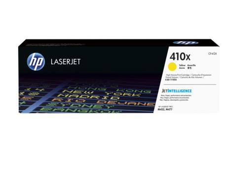 HP 410X High Yield Yellow Original LaserJet Toner Cartridge (CF412X)