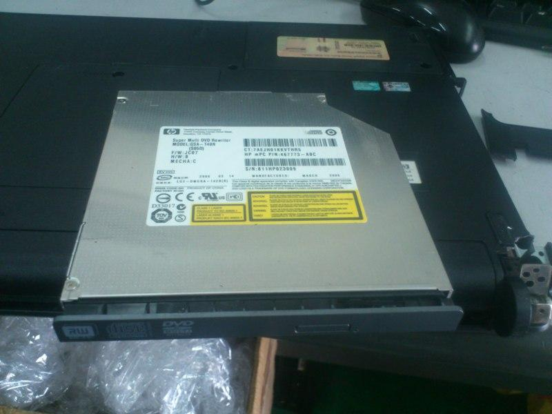 HP 520 Notebook DVD-RW Drive 030813
