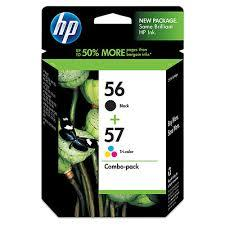HP 56/57 Ink Cartridge Combo Pack (CC629AA) 5510 4110 6110
