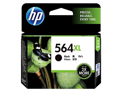 HP® 564XL High Yield Black Original Ink Cartridge(CN684WA)