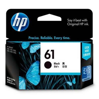 HP 61 Genuine Black Ink Cartridge CH561WA