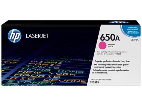 HP 650A Magenta Original LaserJet Toner Cartridge(CE273A)