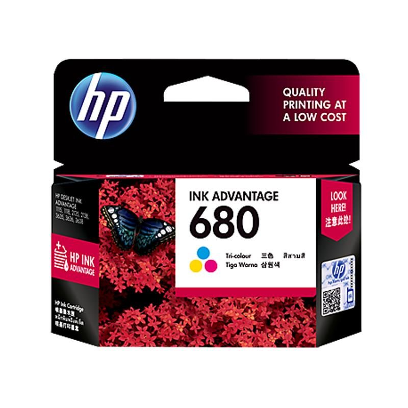 HP 680 Original Color Ink Cartridge