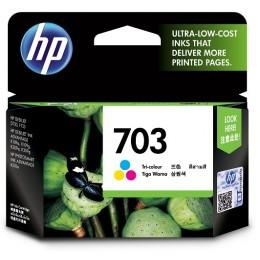 Hp 703 Tri-Color Ink Cartridge (CD888AA) D730 F735 K109a K209a K510