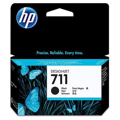 HP 711 38ml Black Ink, CZ129A T120 T520