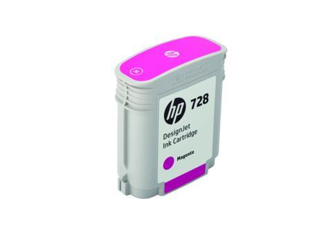 HP 728 40-ml Magenta DesignJet Ink Cartridge(F9J62A)