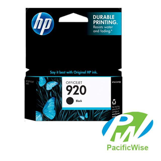 HP 920 (CD971AA) Black Ink Cartridge (Original)