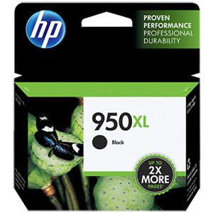 HP 950XL BLACK ORIGINAL INK CARTRIDGE (CN045AA)