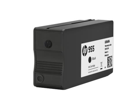 HP 955 Black Original Ink Cartridge(L0S60AA)