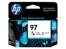 HP 97 COLOUR Ink Cartridge (Genuine) C9363WA 6840 8030 9800 K7100