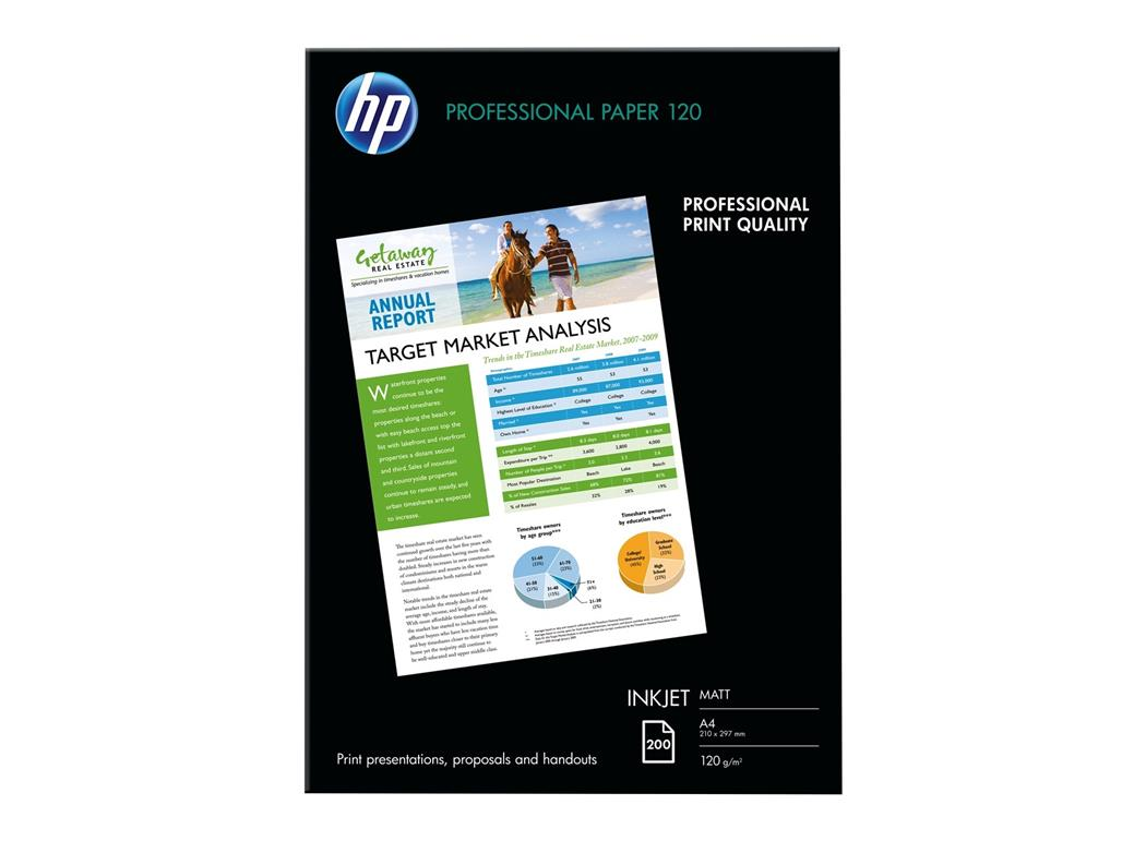 HP A4 Photo Paper Matte 100 Sheets
