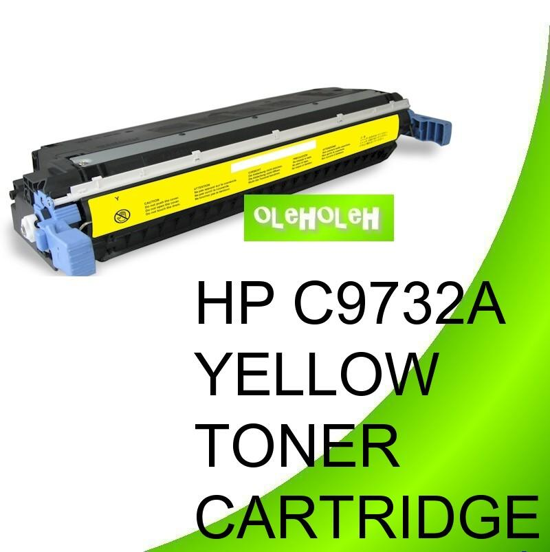 HP C9732A (645A) Compatible Yellow Toner For HP Color LaserJet 5550