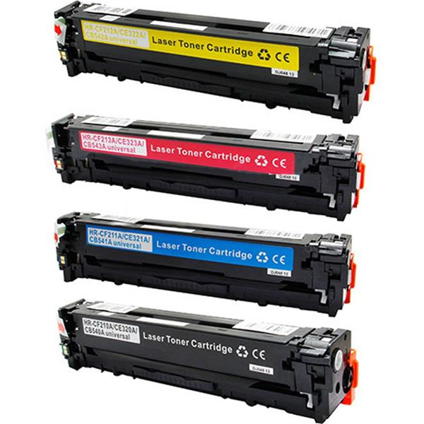 HP CB 542 ( YELLOW) PREMIUM TONER CARTRIDGE-125A(YELLOW)