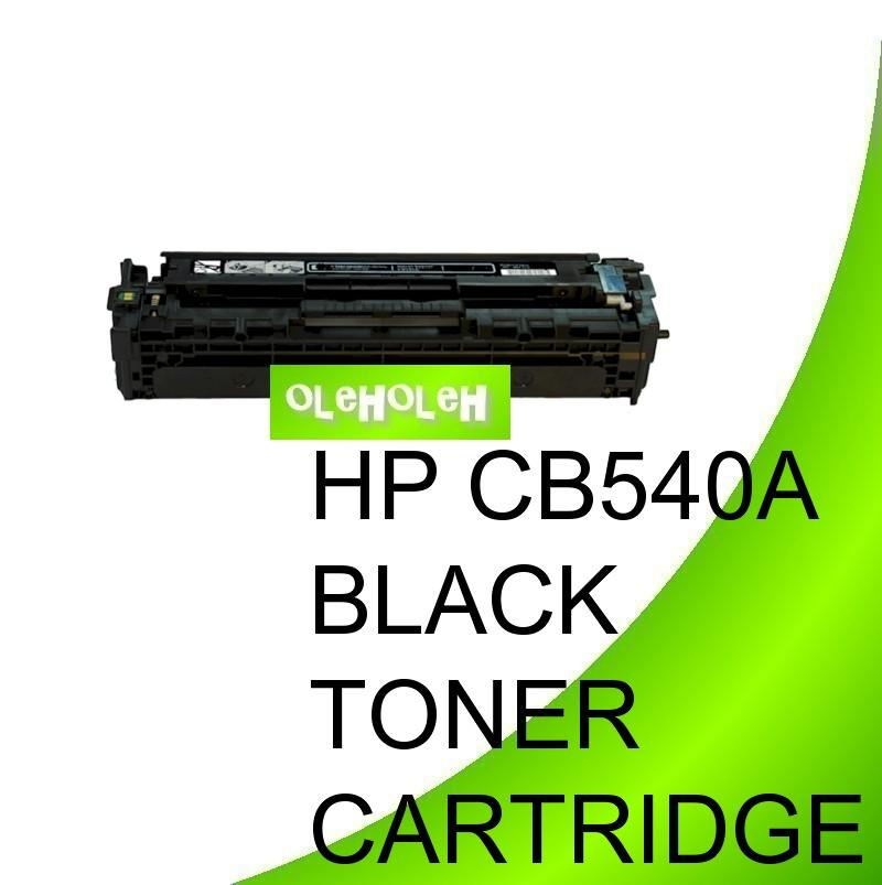 HP CB540A (125A) Compatible Black Toner Cartridge 1215 1210 1312