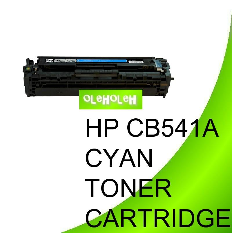 HP CB541A (125A) Compatible Cyan Toner Cartridge LaserJet CM 1300 1312