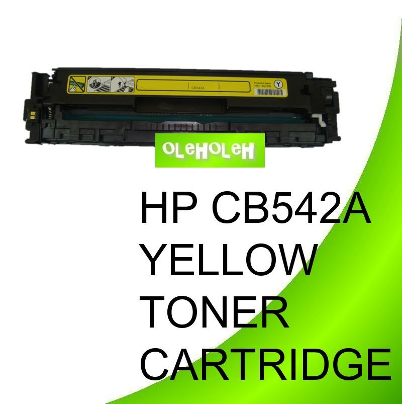 HP CB542A (125A) Compatible Yellow Toner Cartridge CP1518 1515 1510