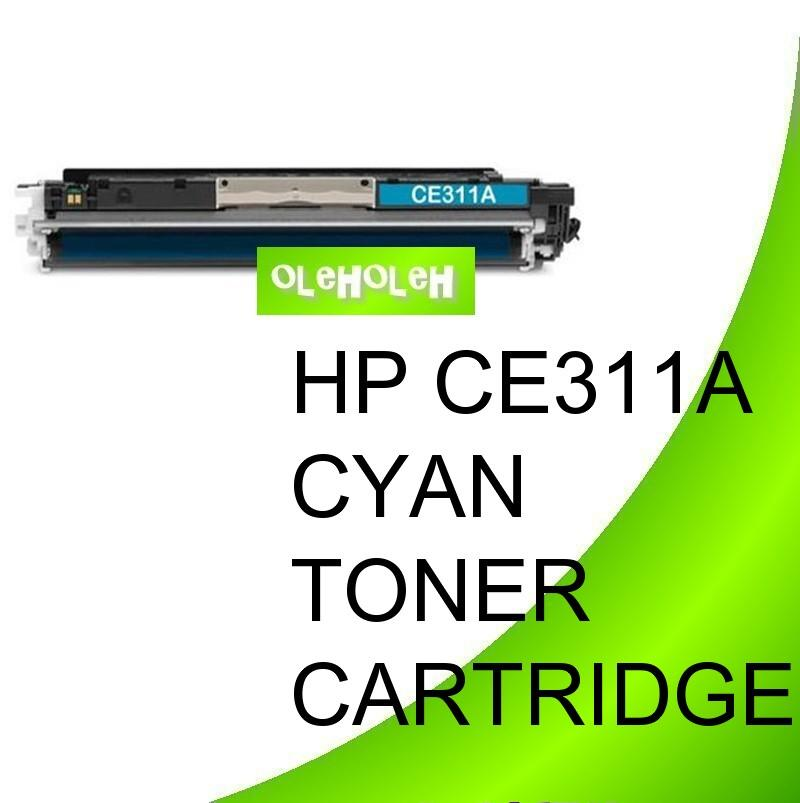 HP CE311A (126A) Compatible Cyan Toner CP1025 CP1025nw