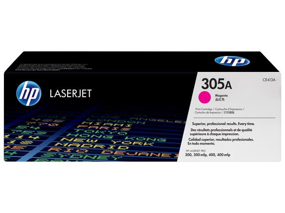 HP CE413A 305A MAGENTA TONER CARTRIDGE 300 400 M451 M475 413 305