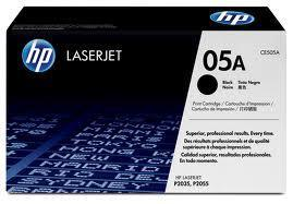 HP CE505A (05A) Black Toner (Genuine) for P2035 P2055 505 505A CE505
