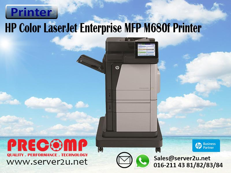 HP Color LaserJet Enterprise MFP M680f Printer (CZ249A)