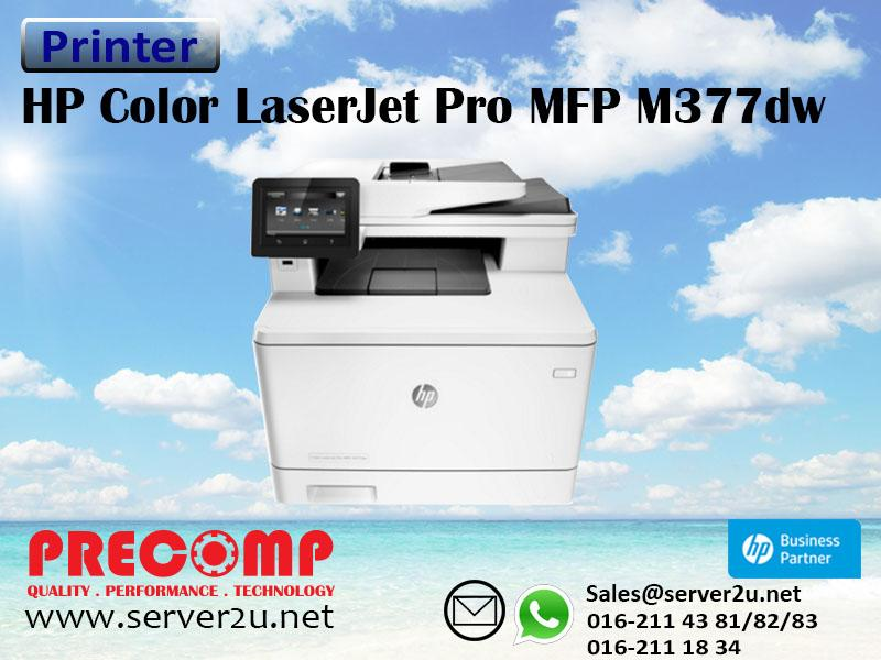hp laserjet mfp m377dw how to clean color