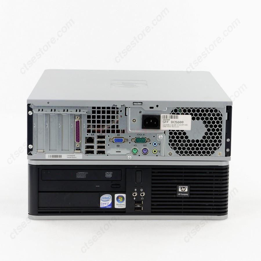 HP Compaq DC5800 SFF Desktop PC Computer Office Use