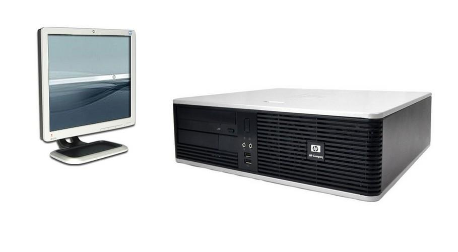 HP Compaq dc5800 (SFF) + HP 17' Monitor + 8GB DDR2 RAM