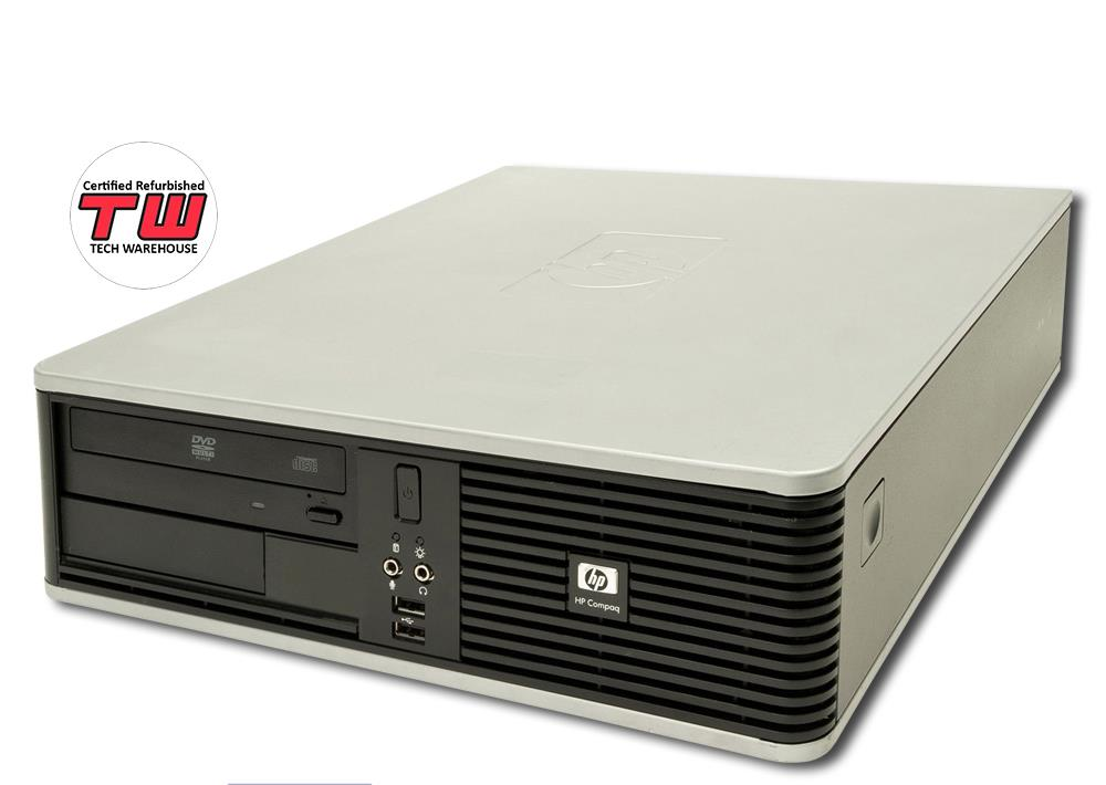 HP Compaq dc7900 (SFF) + Windows 7 Professional + 1TB Hard Disk