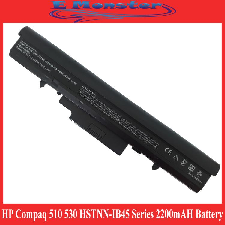HP Compaq Laptop HP 510 530 HSTNN-IB45 Series 2200mAH Battery