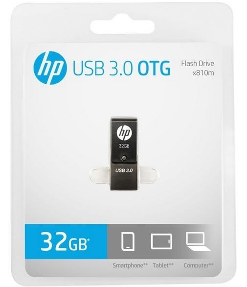 HP Flash Drive USB3.0 32GB OTG x810m