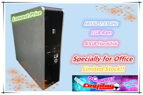 HP Intel Core 2 E6550 2.33GHz 1GB Ram 80GB Limited Stock