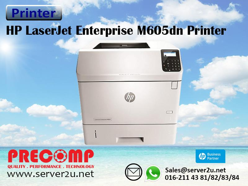 HP LaserJet Enterprise M605dn Printer (E6B70A)