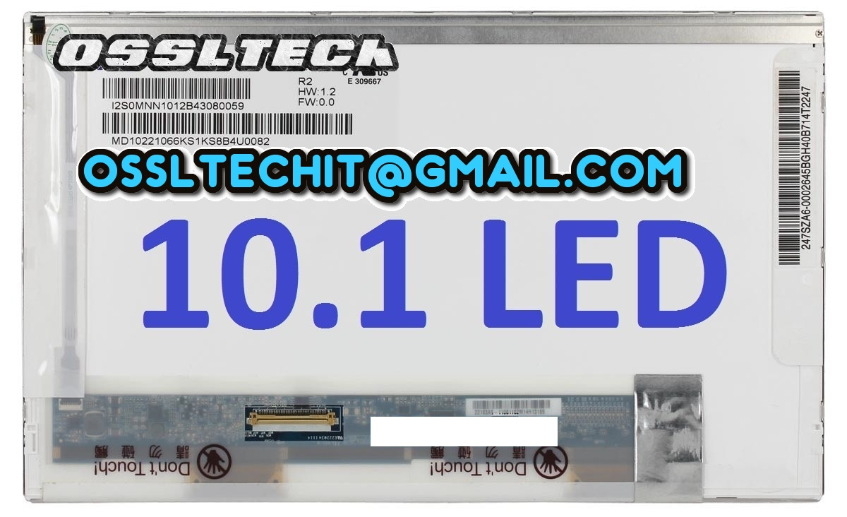 HP Mini 210 110-1001NR 110-3558tu 200-4225tu Laptop LED Screen Panel