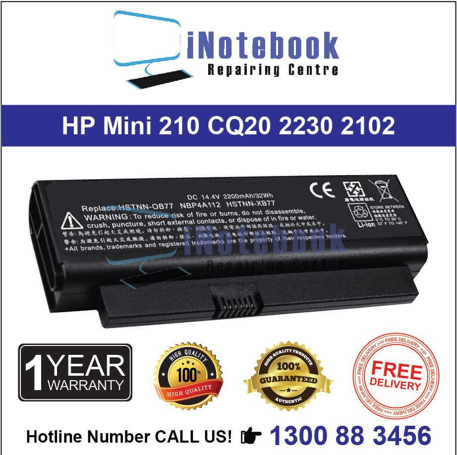 HP Mini 210 CQ20 2230 2102 - New Laptop Battery