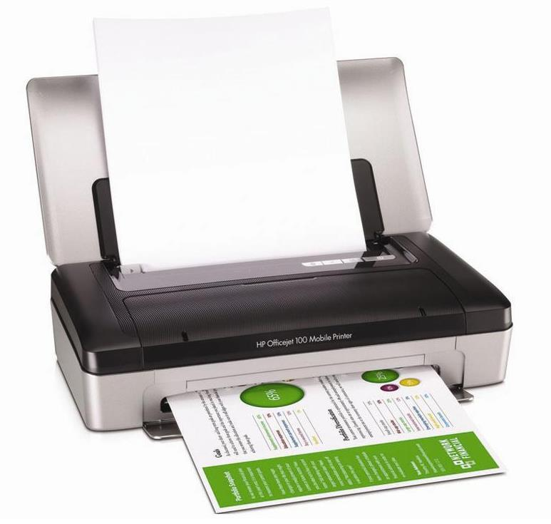 HP Officejet 100 Mobile Printer - L411a (CN551A)